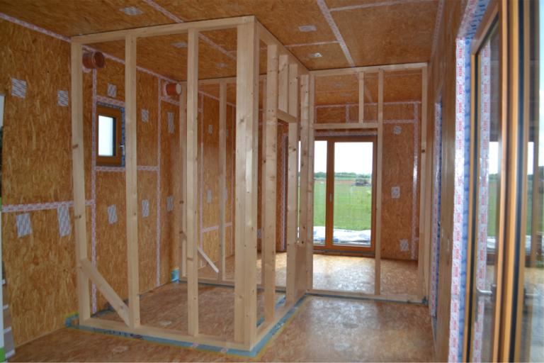 dům k dokončení interiér
