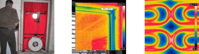 termovízia a blowerdoor test